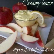 Creamy Lemon dip