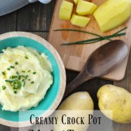 Creamy Crock Pot Mashed Potatoes