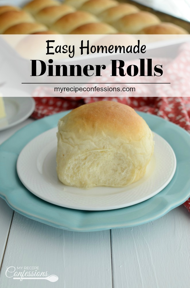 These are literally the best homemade dinner rolls! Texas Roadhouse rolls don't even come close to this recipe. These rolls aren't just for Thanksgiving or holidays; Make them tonight for dinner, I promise your family will love them!  #dinnerrolls #bread #rolls #homemade #homemadedinnerrolls #thanksgiving