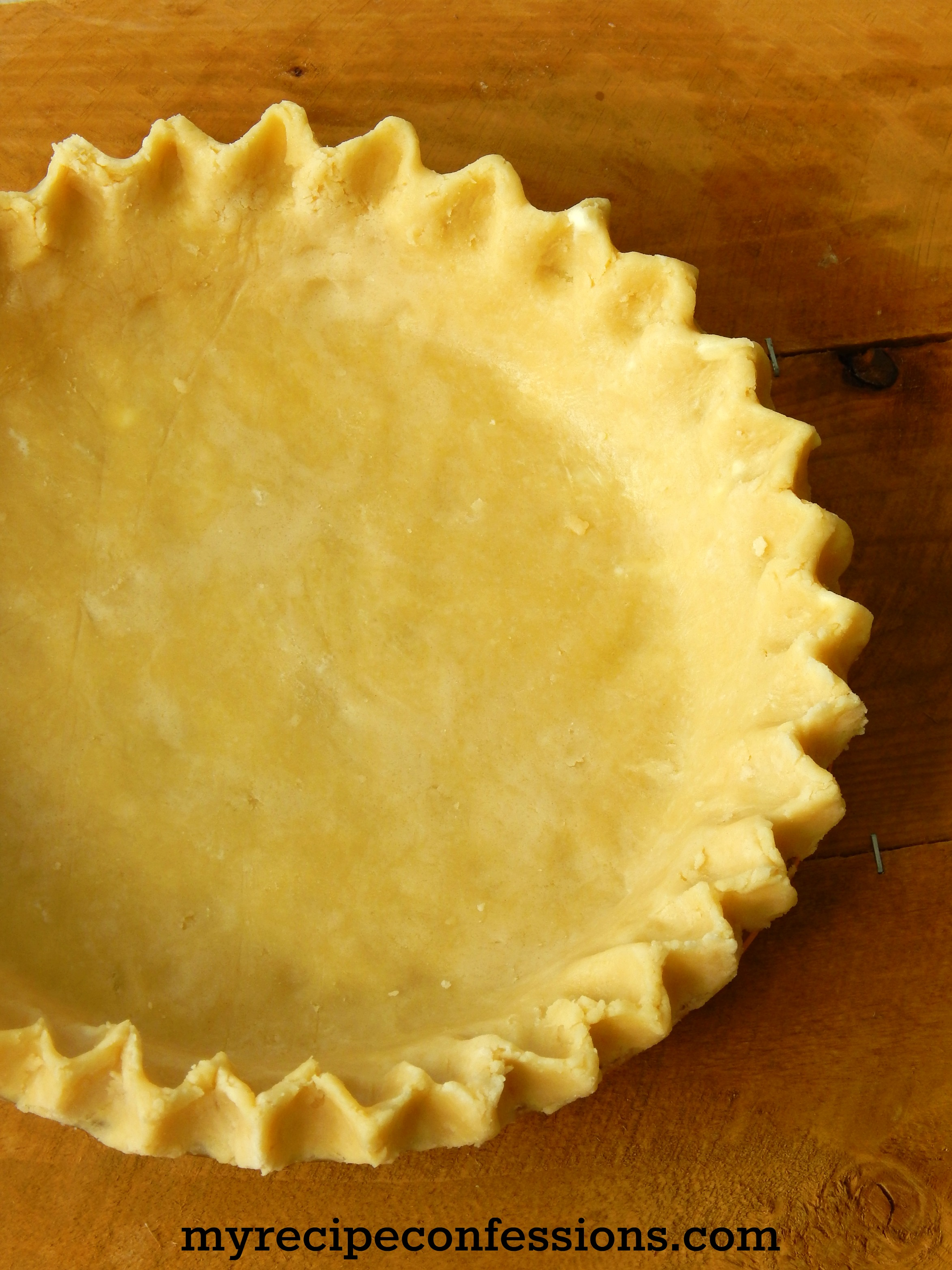 Flaky Pie Crust2