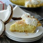Homemade Coconut Cream Pie is the BEST EVER! The made from scratch coconut custard is rich and creamy. This recipe is simple and very easy to make!
