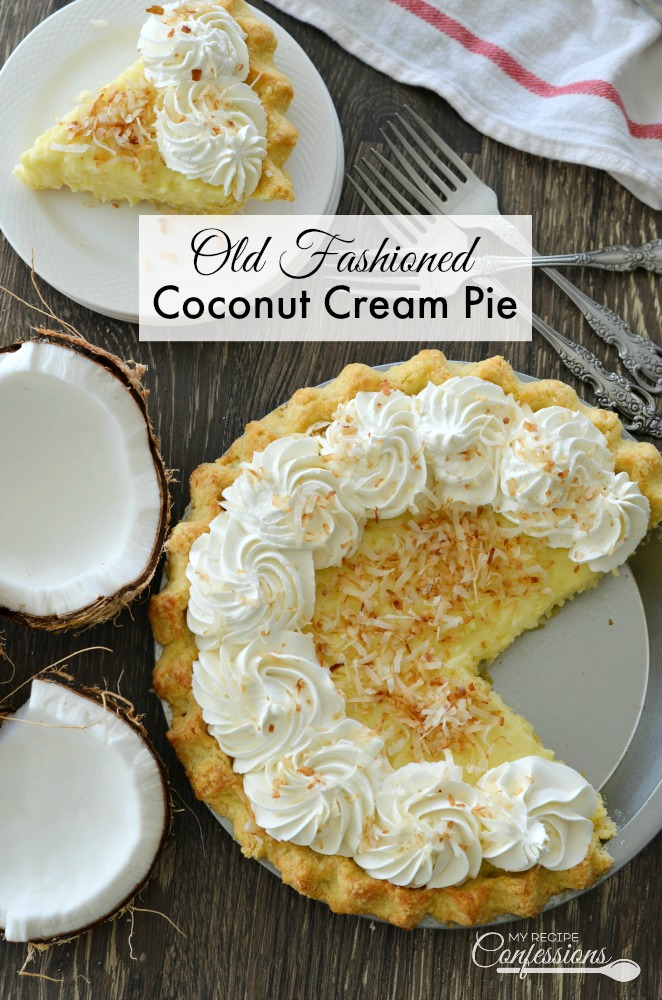 What is the recipe for coconut cream pie-1461