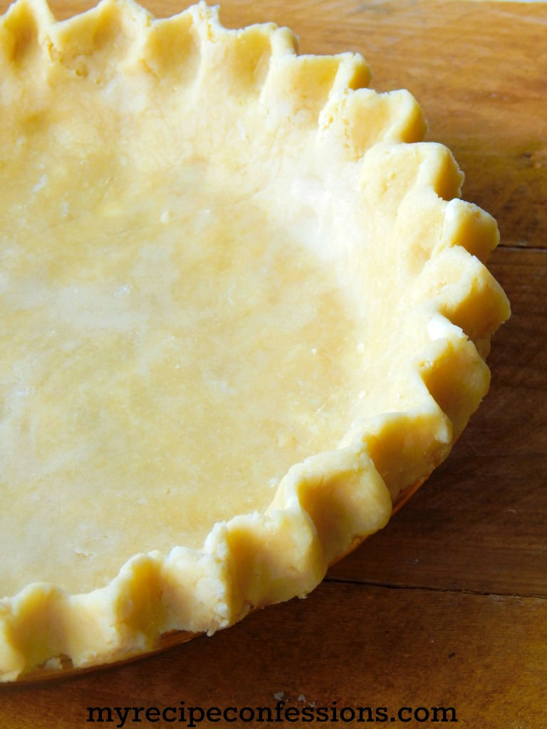 How to Make Perfect Pie Crust is a quick, fool-proof recipe. The crust is buttery and flaky every time. I have tried many recipes over the years and this is the best recipe by far!