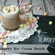 Raspberry Hot Cocoa Bomb