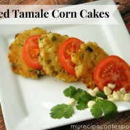 Baked  Tamale Corn Cakes