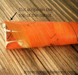 Music Sheet Carrots. These music sheet carrots will be a great addition to your home décor.  If you love diy crafts, you are going to love making these carrots. They are very easy and so much fun to make. I used some of my vintage music sheet but you can even print some off from the internet if you don't have any on hand.