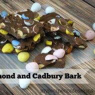 Almond and Cadbury Bark