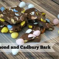 Almond and Cadbury Bark
