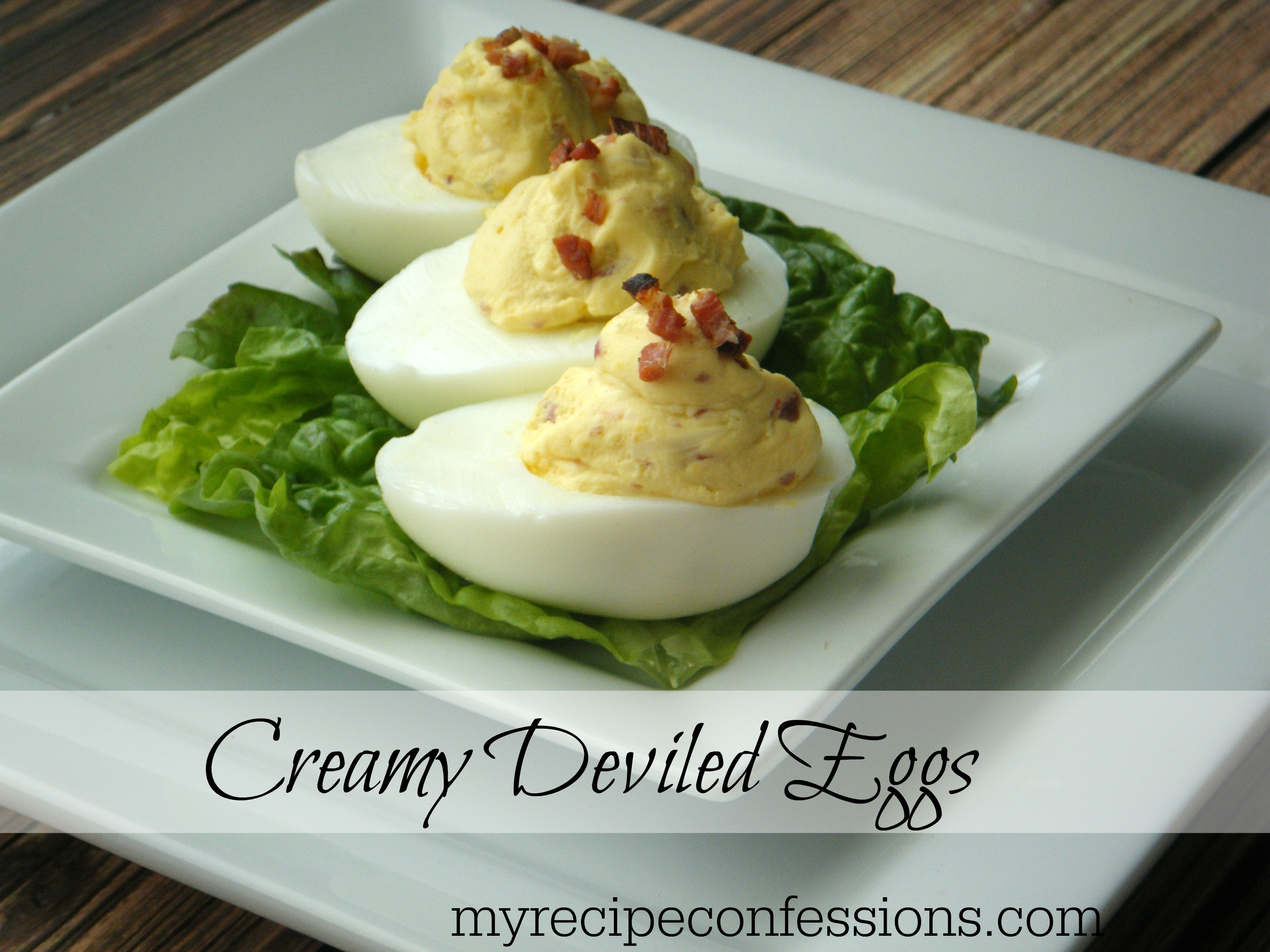 Creamy Deviled Eggs. I have tried many deviled egg recipes, but I wanted a recipe that was a little different that rest. These deviled eggs are very addiciting! They make the perfect appetizers and are a great gluten- free recipe!