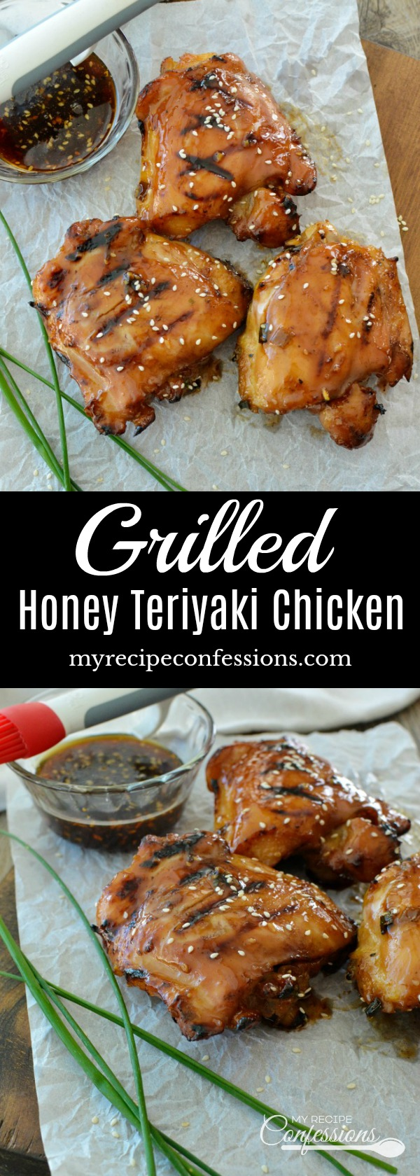 Grilled Honey Teriyaki Chicken will quickly become your favorite ...