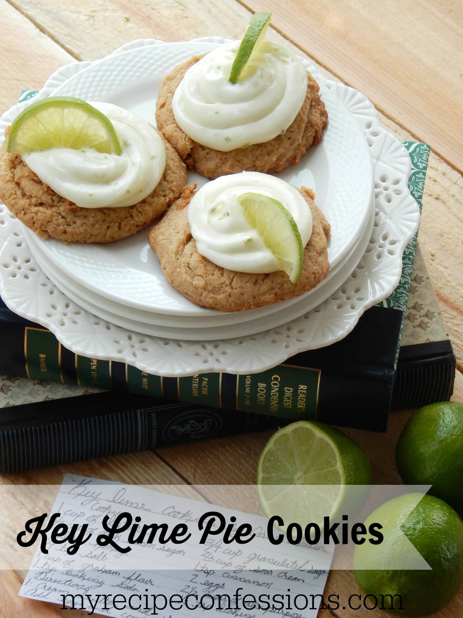 Key Lime Pie Cookies