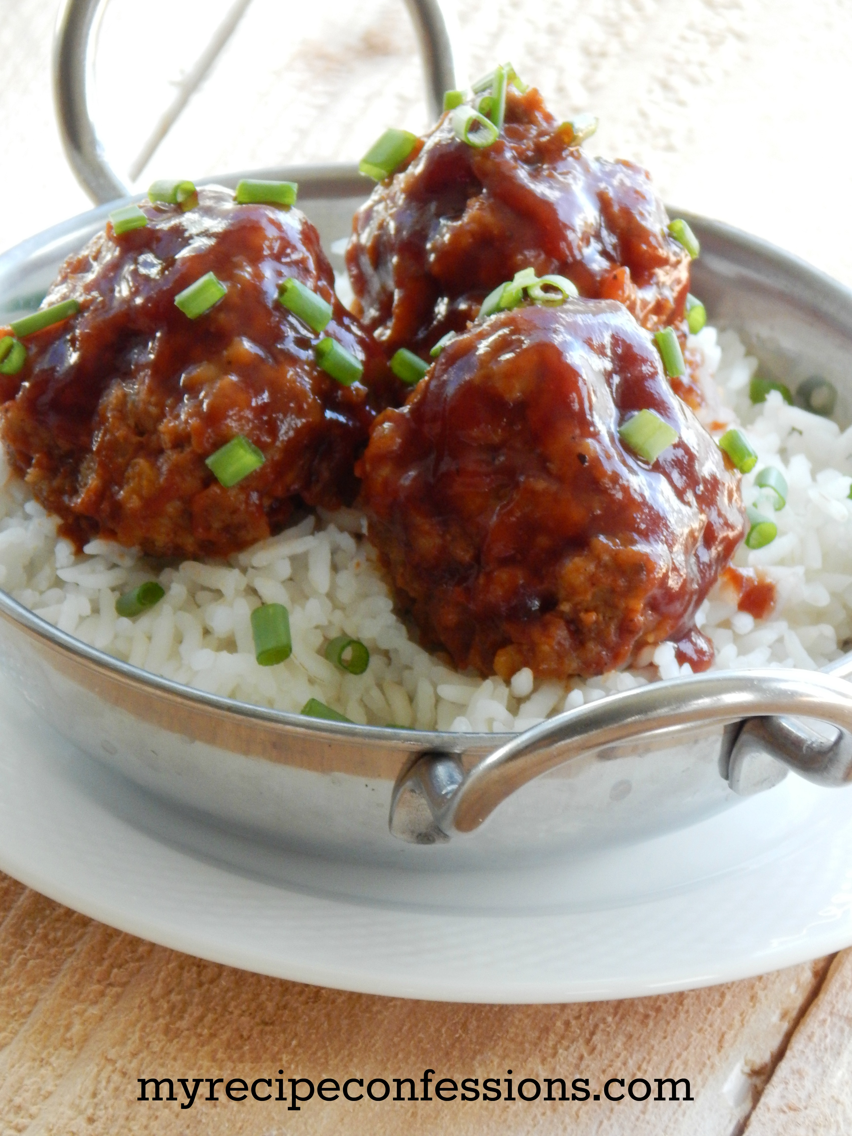BBQ Sauce GLazed Meatballs