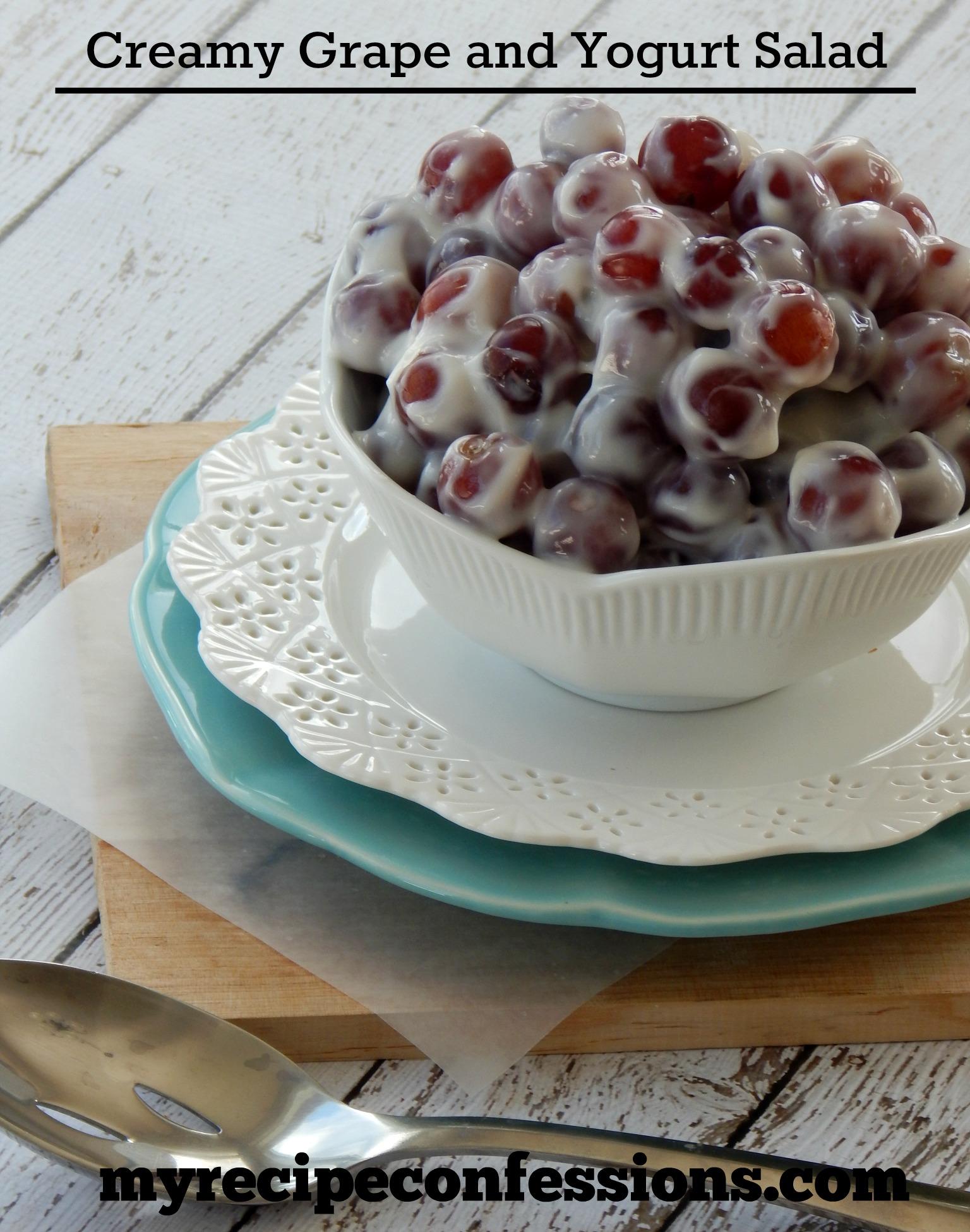 Creamy Grape and Yogurt Salad