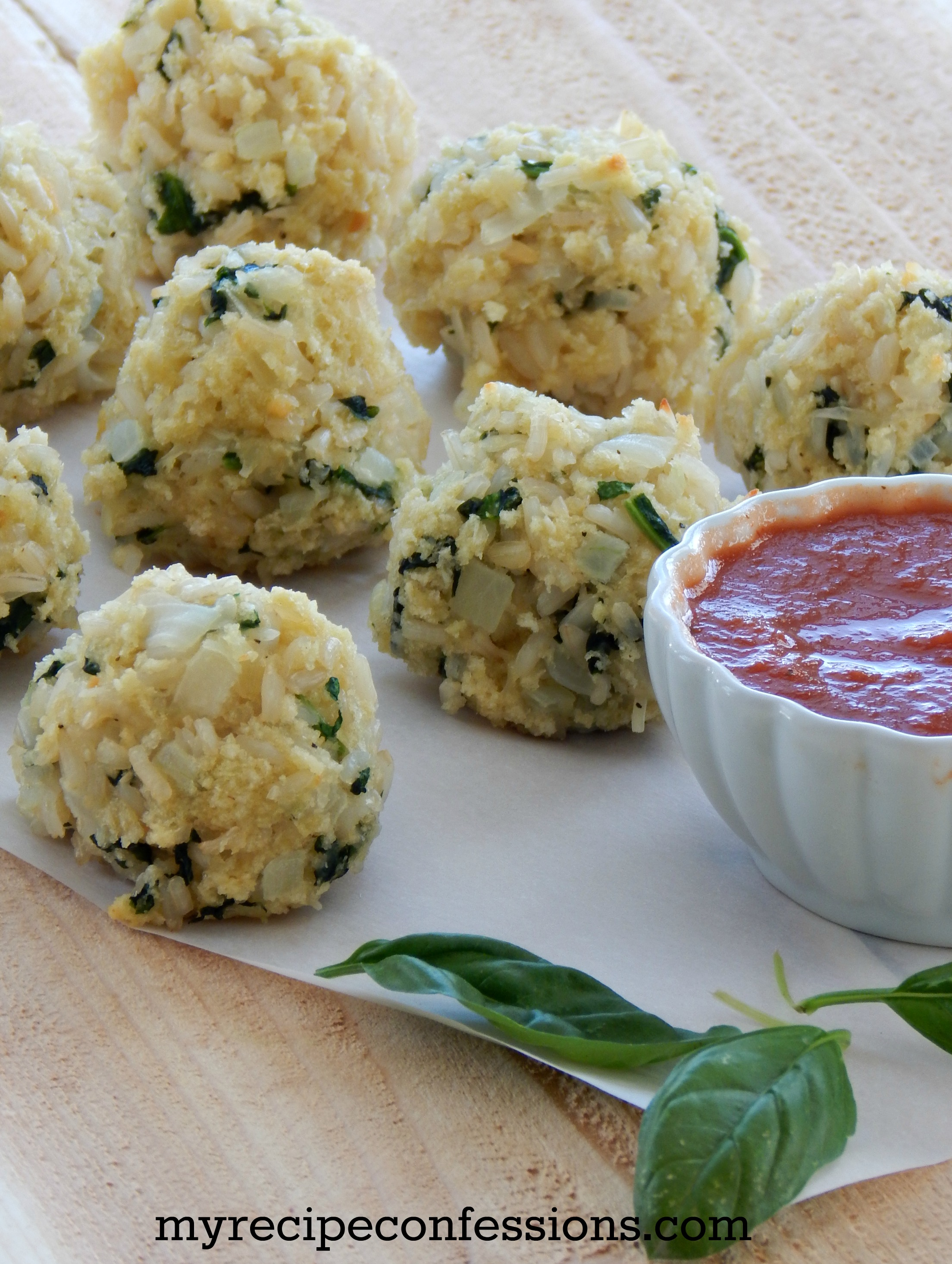 Spinach Rice Ball
