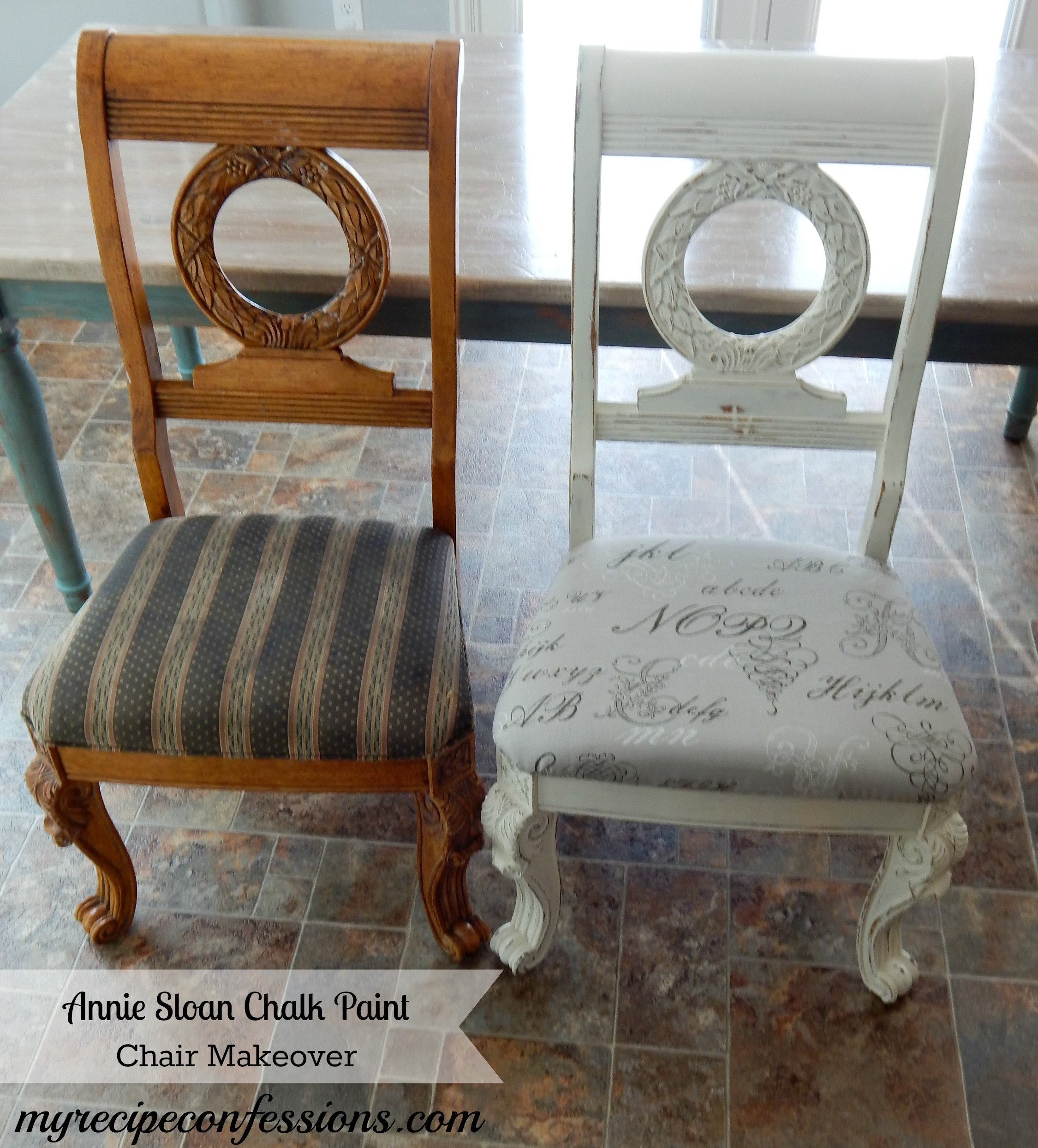 Chalk Paint Tutorial On Fabric