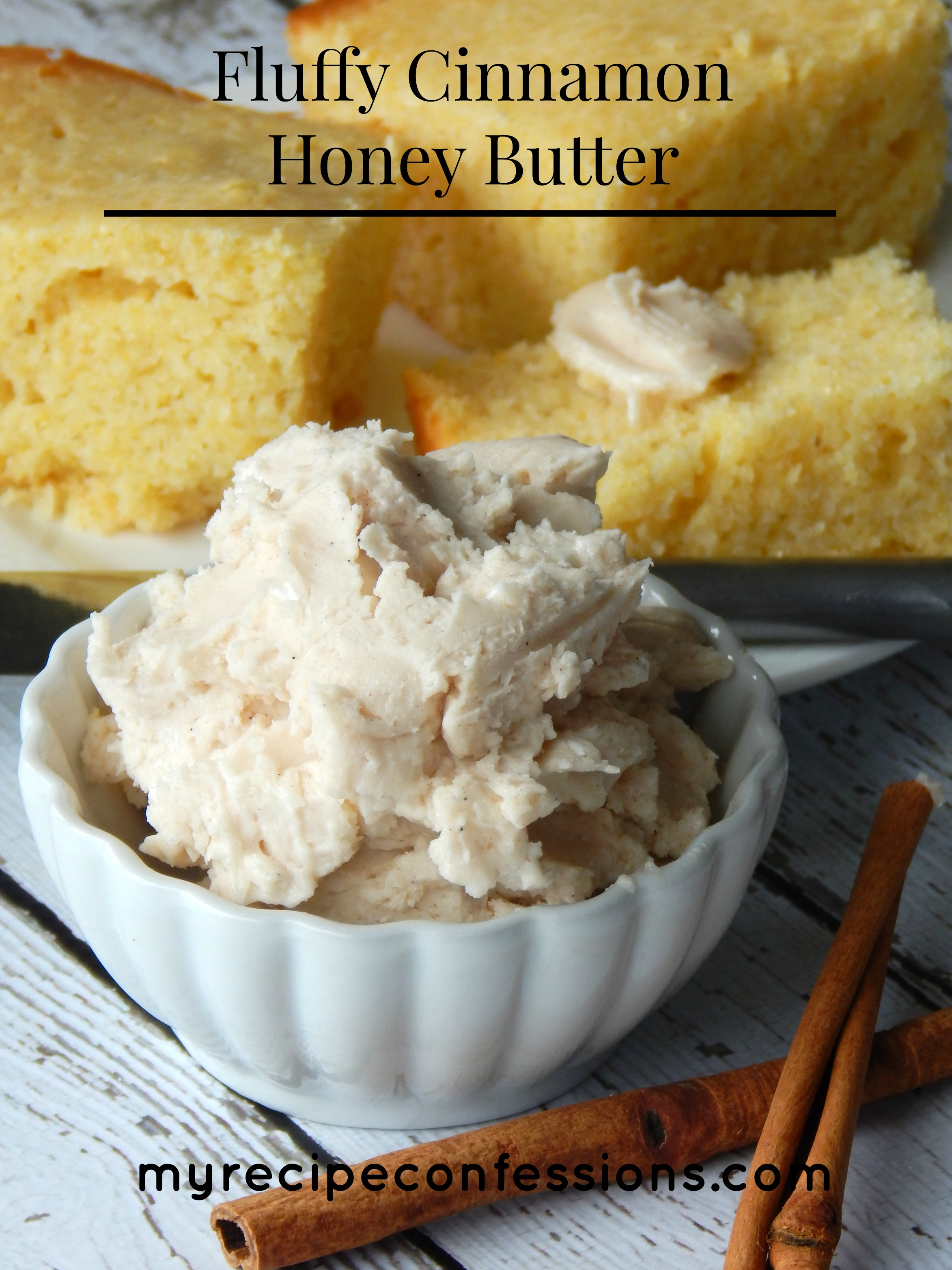 Fluffy Cinnamon Honey Butter