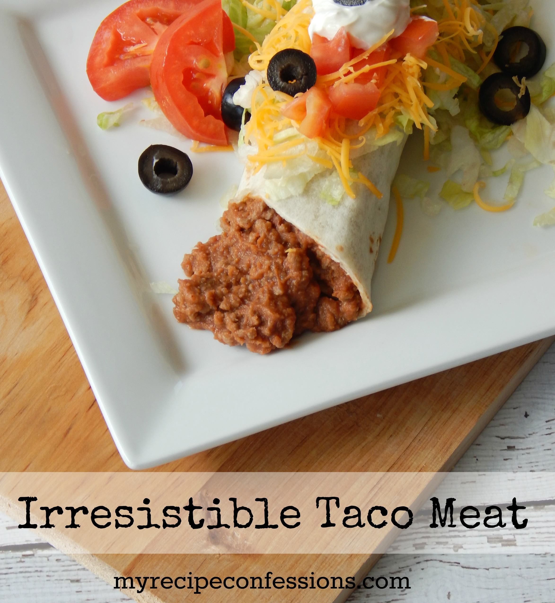 Irresistible Taco Meat