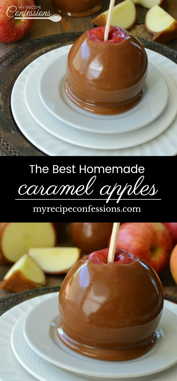 The Best Homemade Caramel Apples put the over priced gourmet caramel apples to shame. The silky smooth caramel has a deep rich flavor that tastes like they were professionally made. You are going to be surprised at how easy these apples are to make.