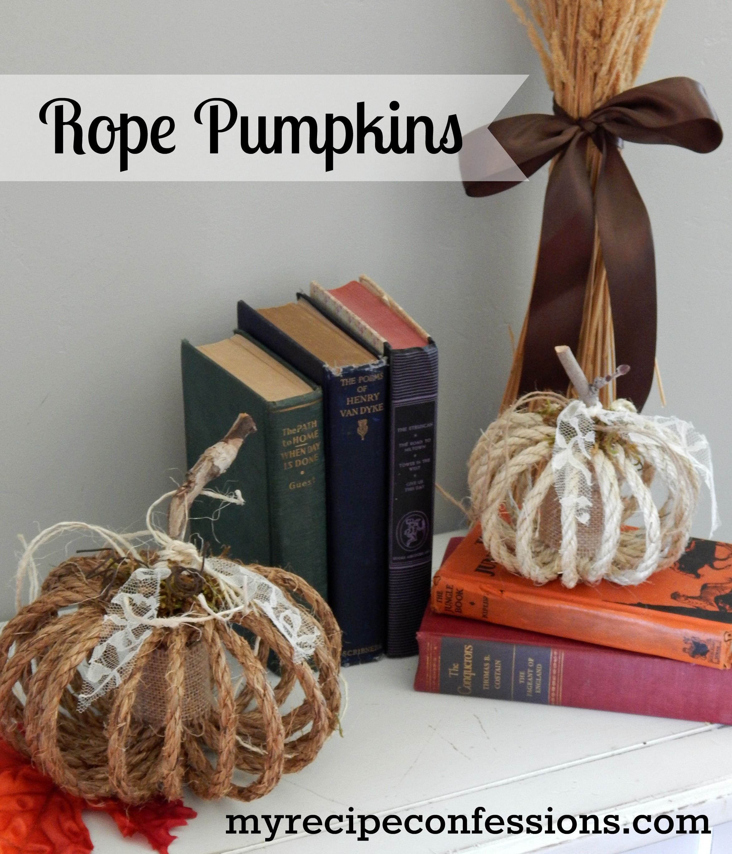 Rope Pumpkins