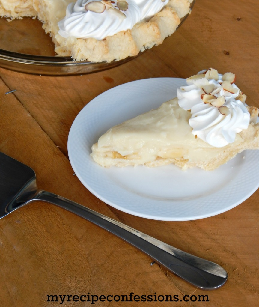 Banana Cream Pie. This pie is one of my favorite thanksgiving desserts! Don't mess with other recipes, because this one is the best one! Every year when I go through my thanksgiving recipes this one is always at the top of the list. Everybody loves this pie and there is never any leftovers.