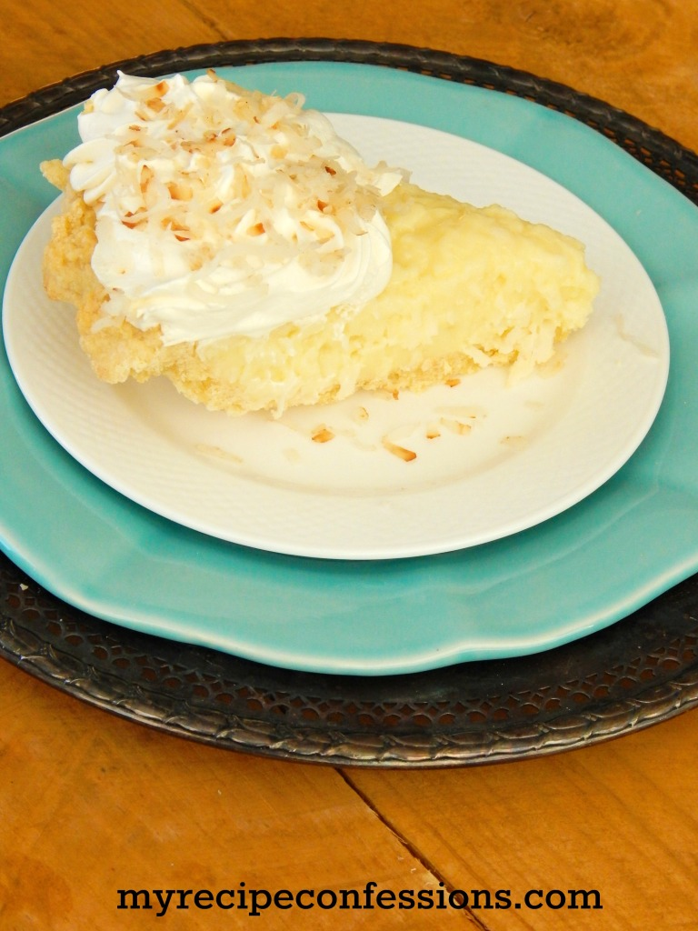 Coconut Cream Pie. This pie isn't just for the summer. Don't waste time with the other coconut cream pie recipes, this is the only one you need! I always get asked to the recipe. It tastes just like pie you had as a kid.