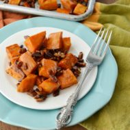 Maple Roasted Pecan Yams