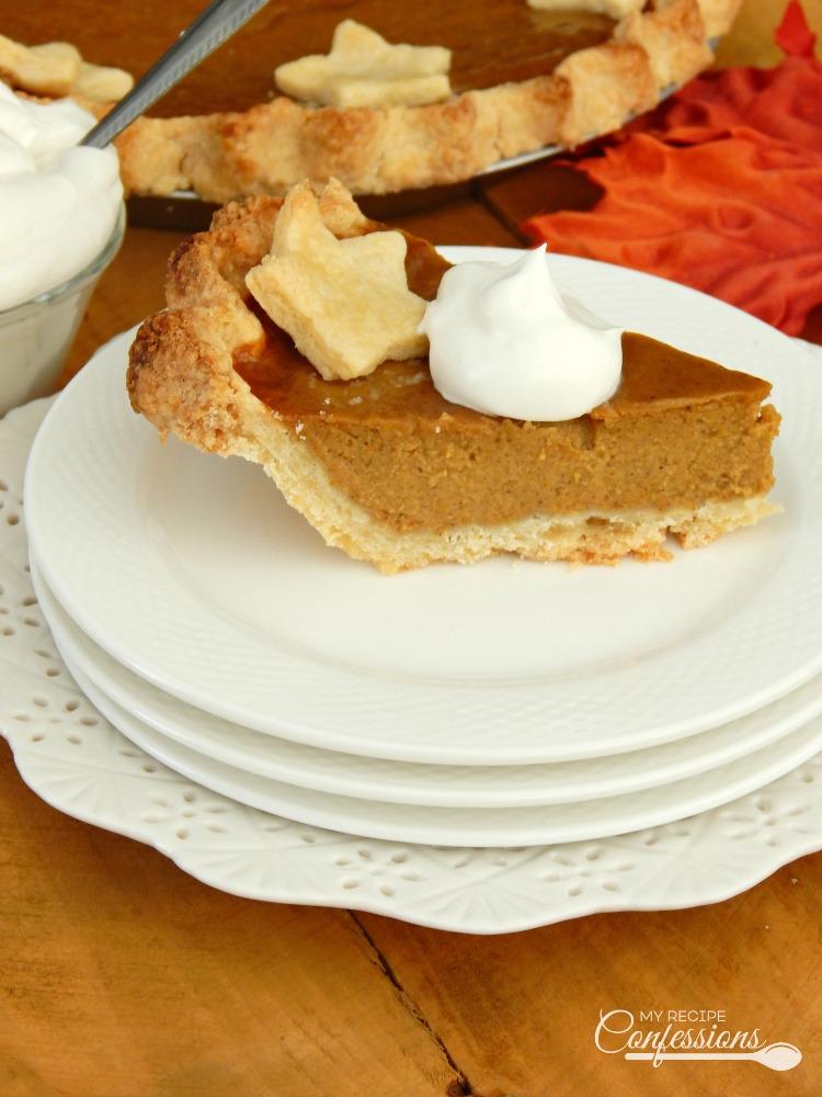 Old Fashioned Pumkin Pie From Scratch
