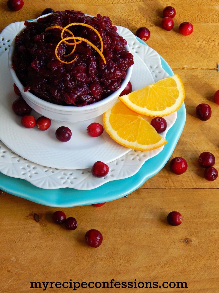Canned Cranberry Sauce Cold Or Room Temperature