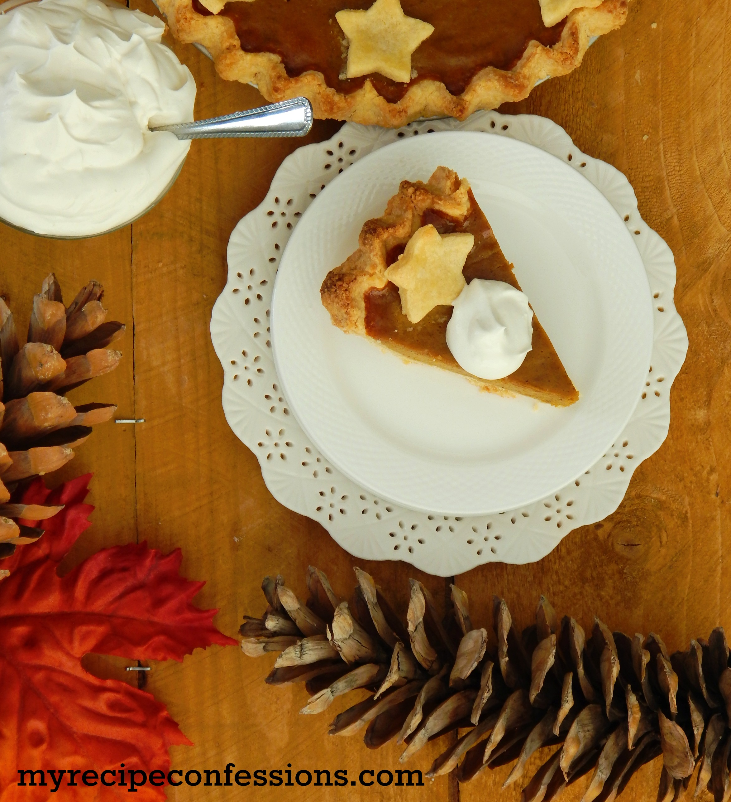 how to make healthy pumpkin pie from scratch