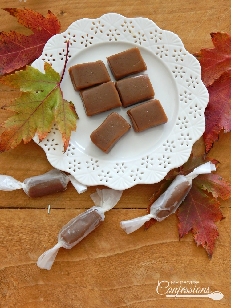 Pumpkin Spice Caramels are a rich, soft and chewy caramel with the perfect with the pop of pumpkin spice. These highly addicting caramels seem to melt in your mouth. You don't want to miss out on this easy to follow recipe.