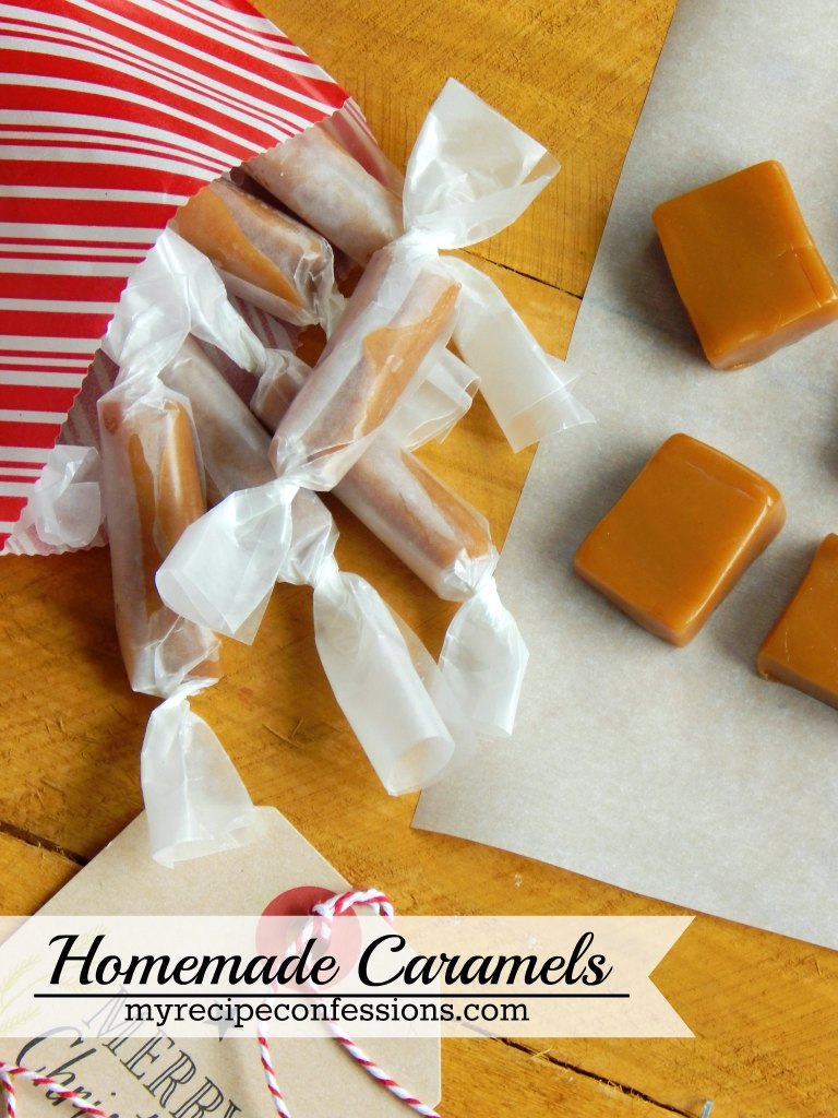 Homemade Caramel. All the other homemade caramel recipes do not compare to this one! It is soft, but not too sticky. You will not find a richer or creamier caramel than this one! Everytime I make them, I get asked for the recipe