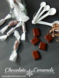 Homemade Chocolate Caramels