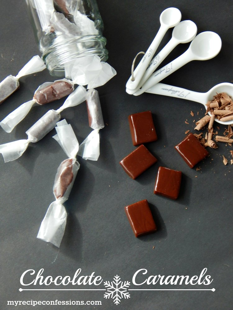Chocolate Caramels are an amazing combination of caramel and chocolate. These caramels are so soft they practically melt in your mouth. I have made this easy to follow recipe over and over, because I can't get enough of these caramels!
