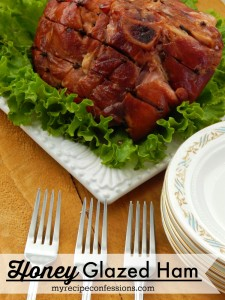 Honey Glazed Ham. This ham is everything you have ever wanted in a Christmas ham and more! The flavor will knock your socks off! Don't mess around with other ham recipes, this one is all you need. Your guests will think you spent a bunch of money on an expensive ham. Don't worry, your secret is safe with me.