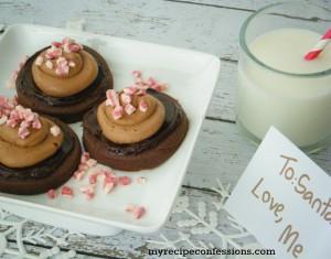 Triple Chocolate Peppermint Sugar Cookies