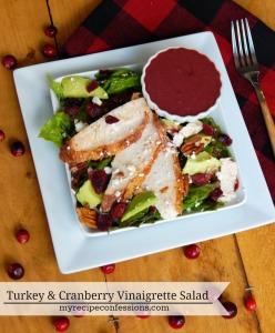 Turkey and Cranberry Vinaigrete