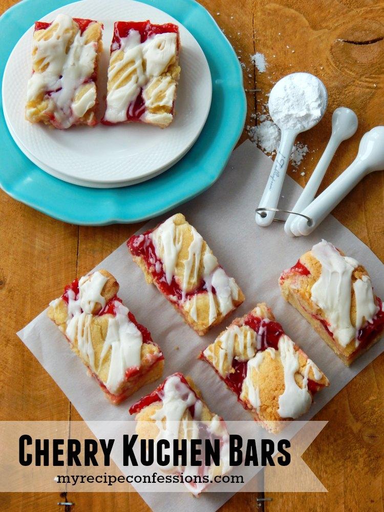 Cherry Kuchen Bars