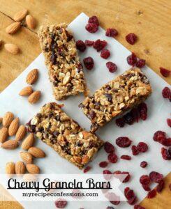 Chewy Granola Bar