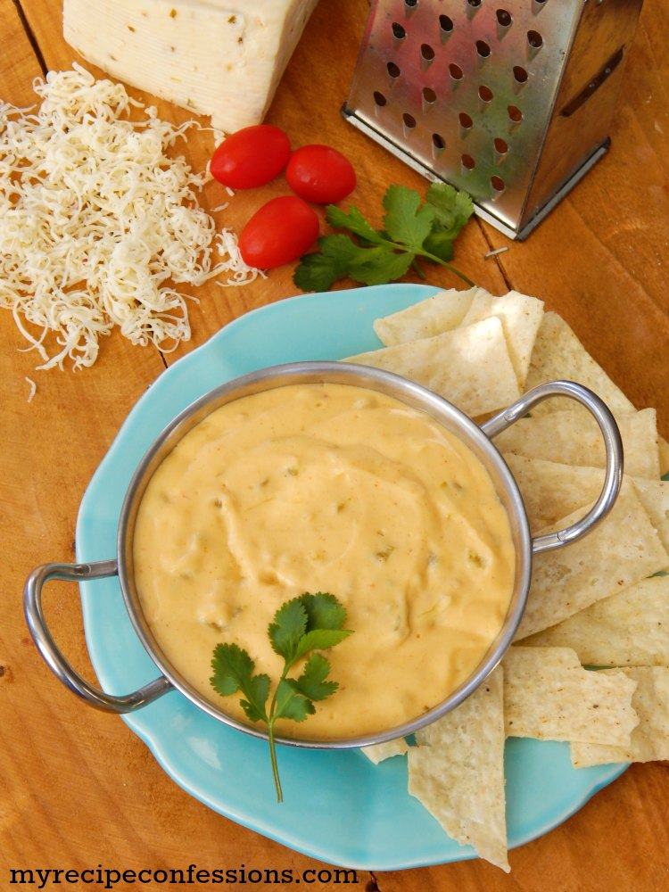 Easy Homemade Queso Dip. I love Mexican food! This recipe is not only easy but delicious as well. Don't mess with the processed cheese dips. Serve this dip along with your other favorite appetizers. I had tried other recipes and this one beats them all!