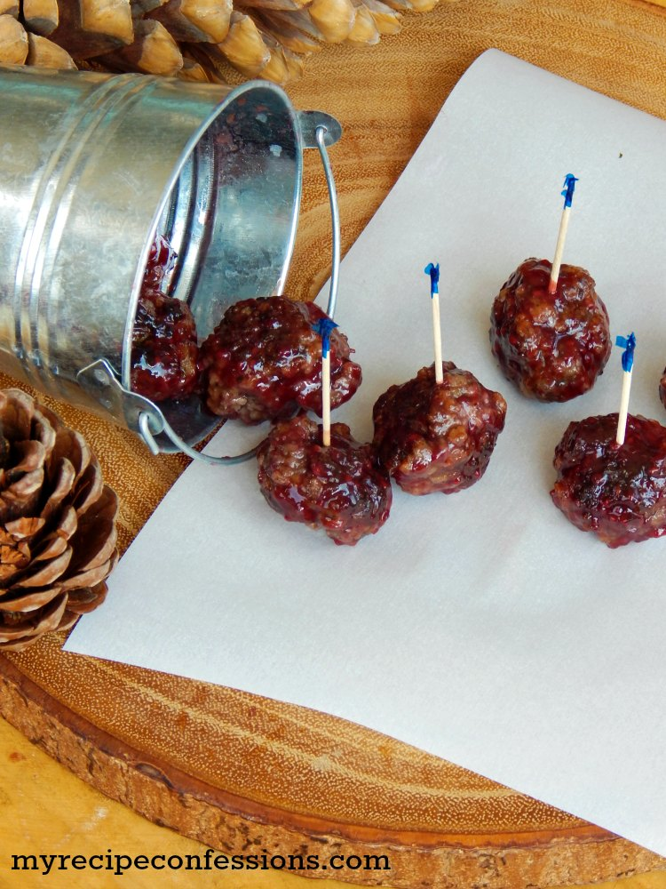 Raspberry Chipotle Meatballs. Holy cow these meatballs are everything you could ever want in a meatball and more! They are juicy and so packed with flavor you won't be able to stop eating them. They make great appetizers for a party! This is one of the best meatball recipes I have ever tried!