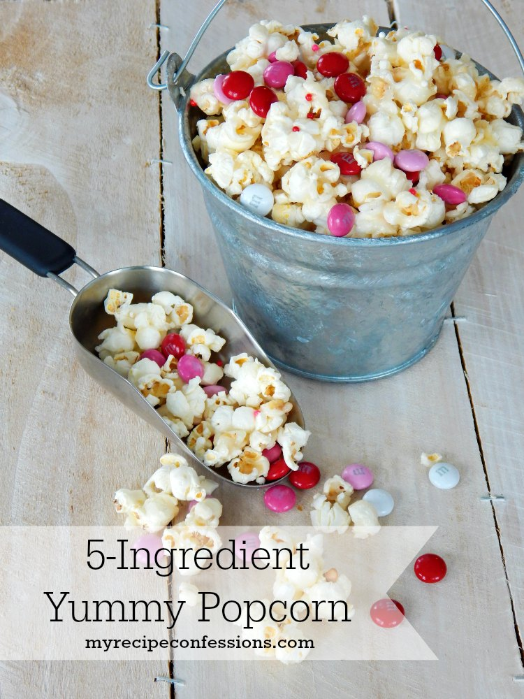 5-Ingredient Yummy Popcorn