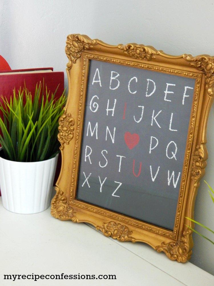 Alphabet Valentine Printable