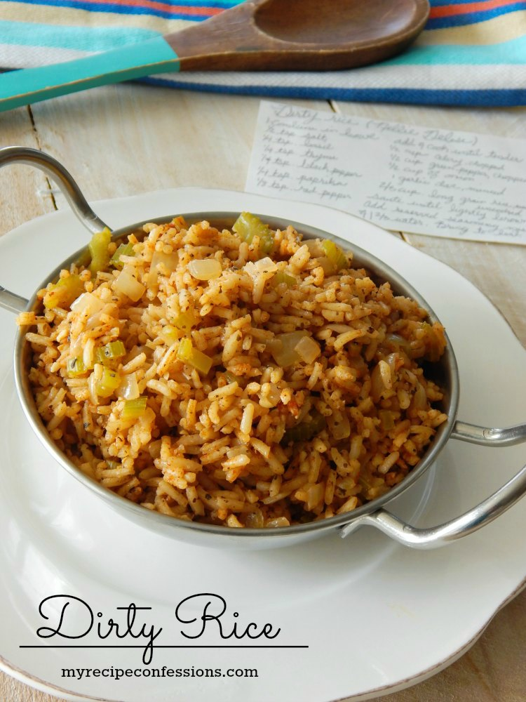 Dirty Rice, Side Dish, Rice Recipe