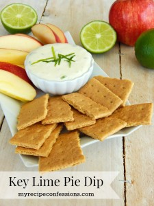 Key Lime Pie Dip
