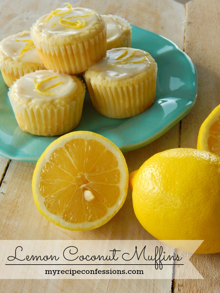 Lemon Coconut Muffins are like a ray of sunshine with every bite! These muffins are light, refreshing, and bursting with flavor! This is my favorite muffin recipe!