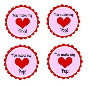 You make my heart pop printable