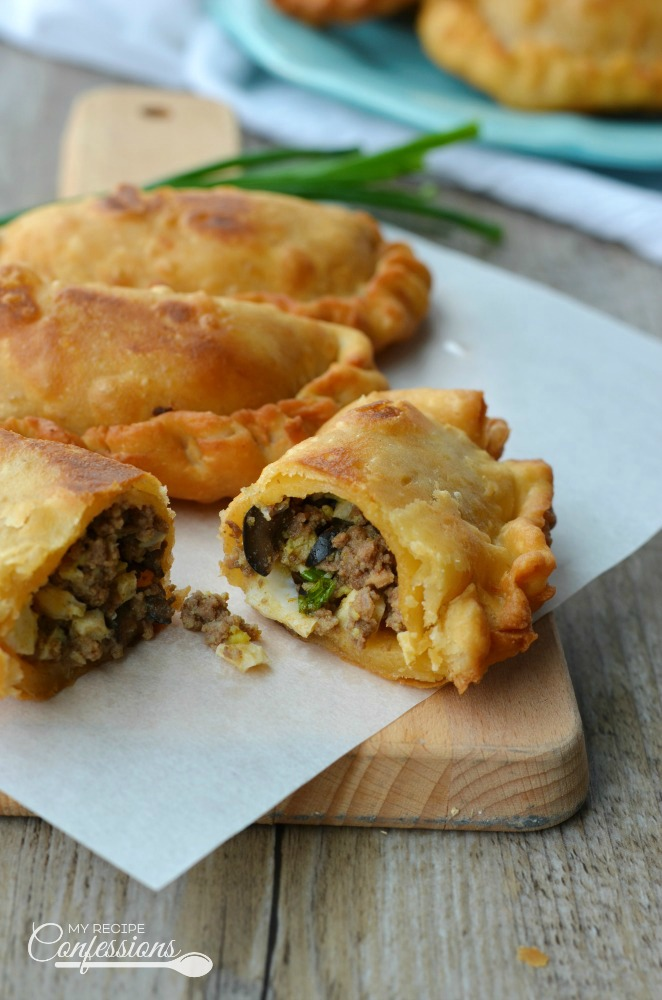 This Argentine Empanadas is the only recipe you will ever need! The easy dough recipe results in a delicious flaky crust and the beef filling is beyond amazing. You can also fill the empanadas with chicken, ham and cheese, or even spinach and cheese.