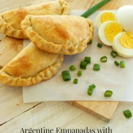 Argentine Empanadas with Homemade Flaky Dough