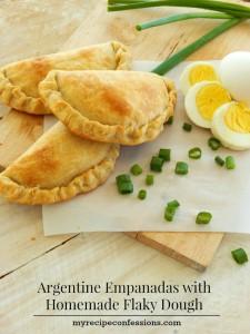 Argentine Empanadas with Homemade Flaky Dough