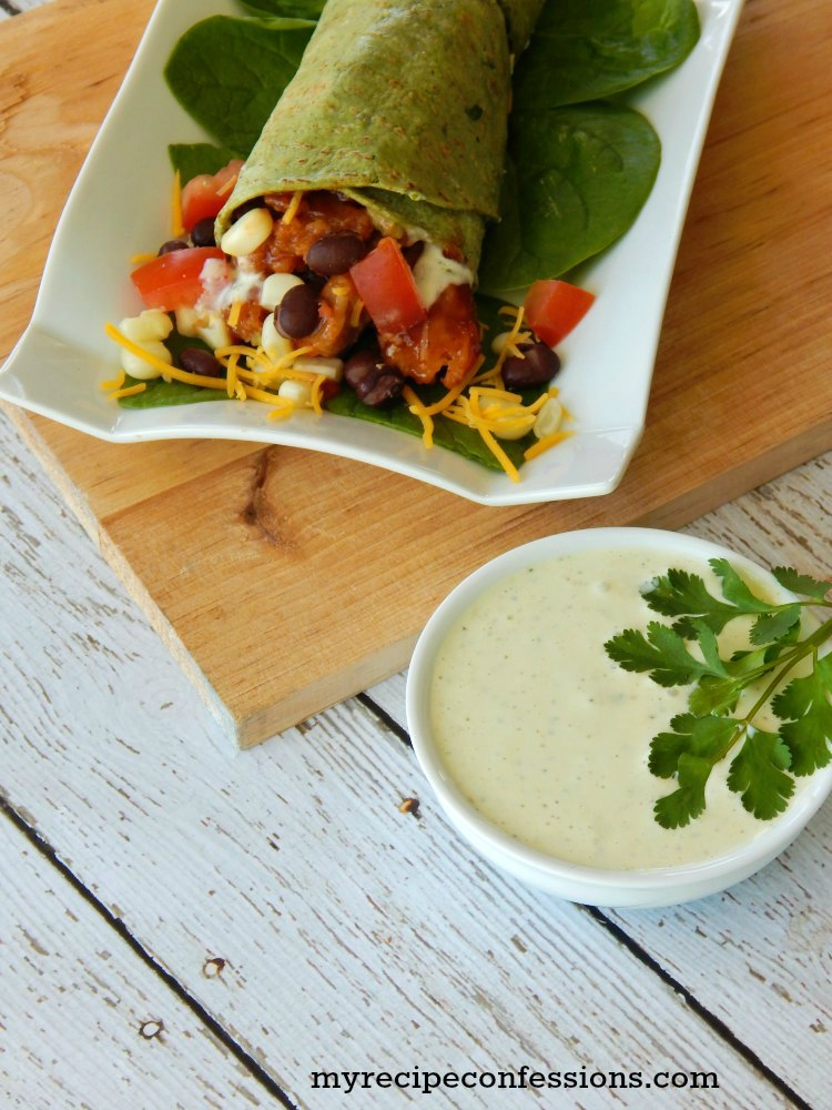 Quick and Easy Chicken Santa Fe Wraps - My Recipe Confessions